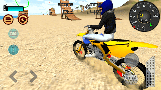 Motocross Beach Jumping 3D- screenshot thumbnail