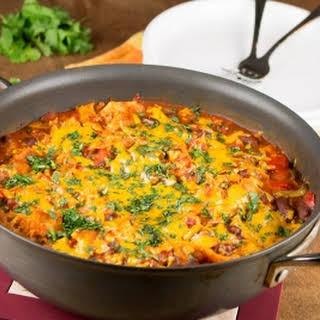 One-Pot Meatless Enchilada Stew.