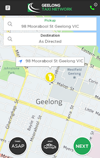 Geelong Taxi Network- screenshot thumbnail