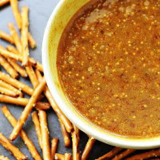 Raspberry Honey Mustard Pretzel Dip (Harry & David Copycat).