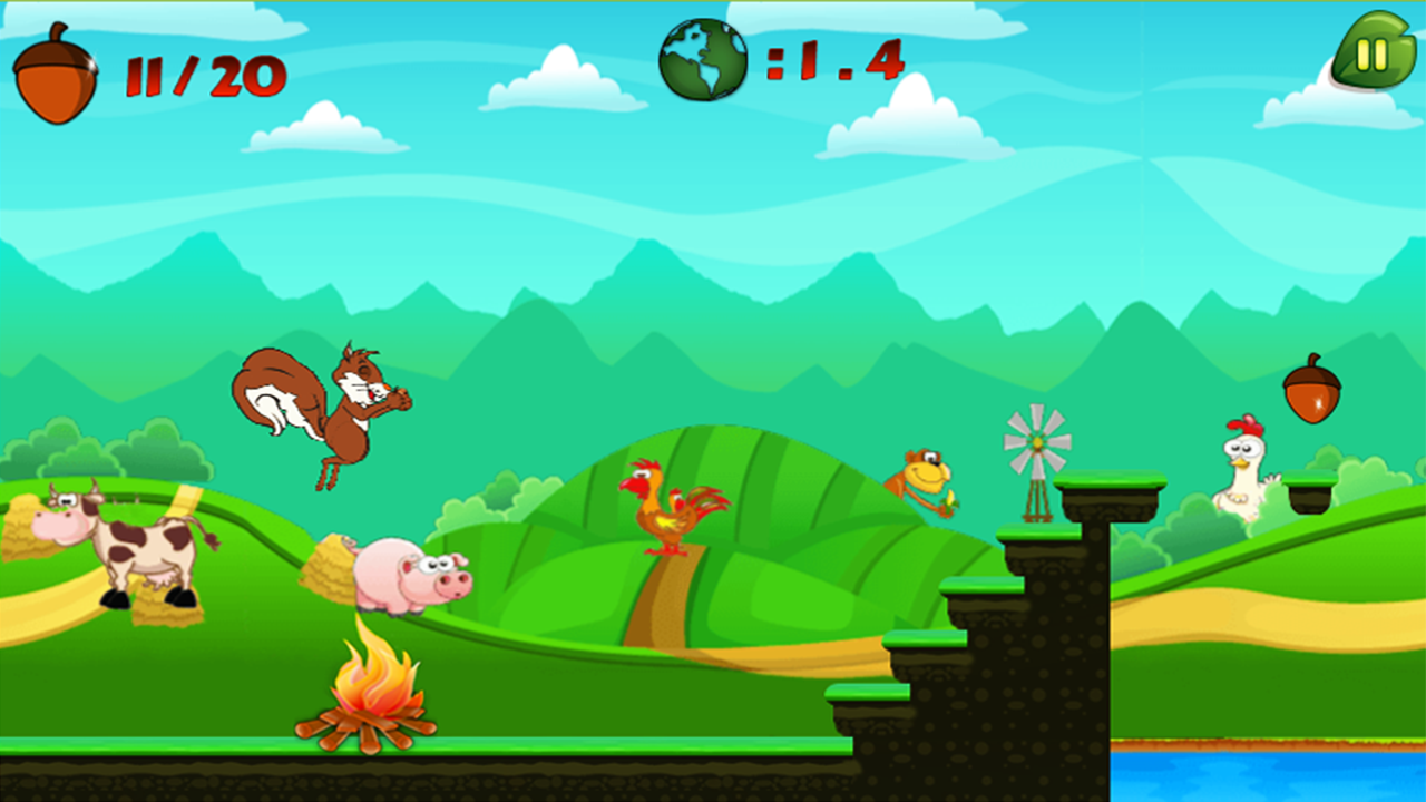 Squirrel Run- screenshot