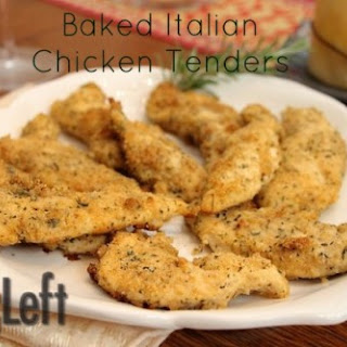 Baked Italian Chicken Tenders Recipe