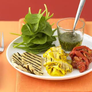Haloumi and Zucchini Salad.
