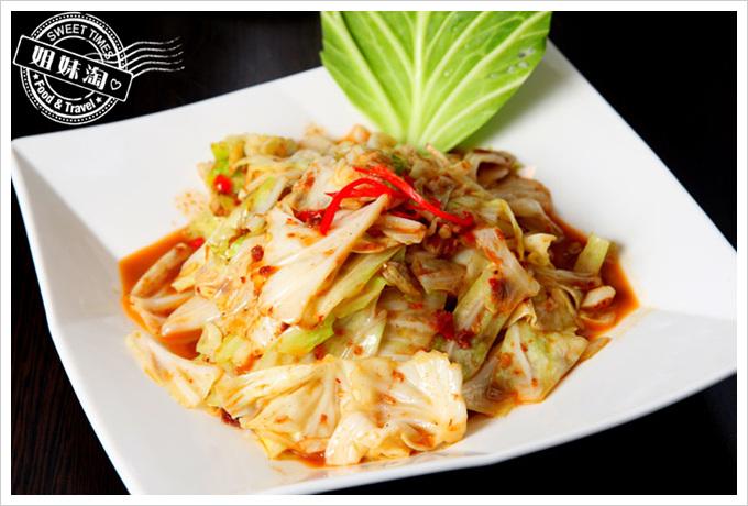 阿杜皇家泰式料理菜單蝦醬高山高麗菜