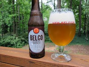 Photo: New Belgium Belgo Belgian Style IPA