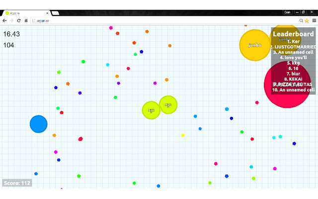 AgroMod: The Only Agar.io Merge Timer