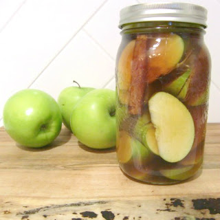 Quick-pickled Apples