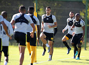 Kaizer Chiefs players during a training session at their training base in Naturena, south of Johannesburg, on Wednesday May 15 2019.