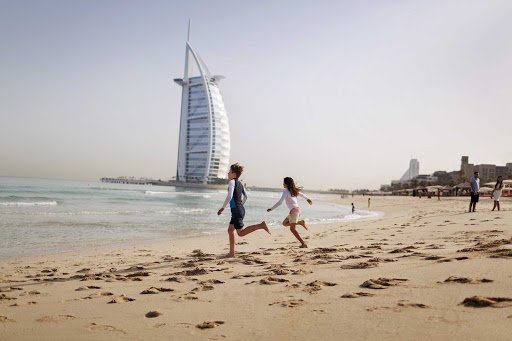 Enjoy some time with the kids on Dubai's miles of beaches.