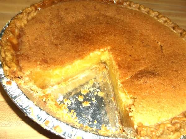 Mom's Chess Pie Recipe