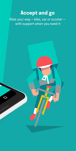 Screenshot for Deliveroo Rider in United States Play Store