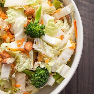 Asian Napa Cabbage Salad.