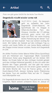 Cycling News Reader- screenshot thumbnail