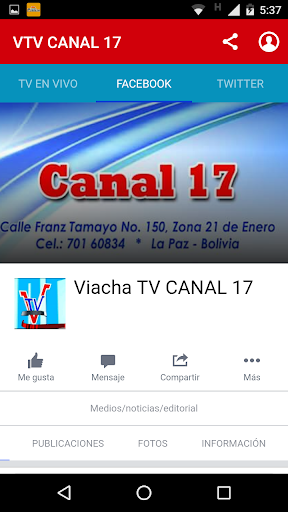 VTV CANAL 17  1
