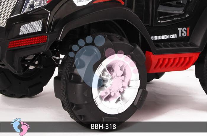 Ô tô điện trẻ em BBH-318 kiểu Police 10