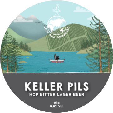 Logo of Lost And Grounded Keller Pils