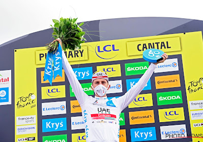Pogacar de beste op de Grand Colombier, Bernal verliest zeven minuten dankzij van Aert