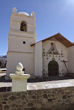 Photo: Frontis de la iglesia Lari, Caylloma - Arequipa