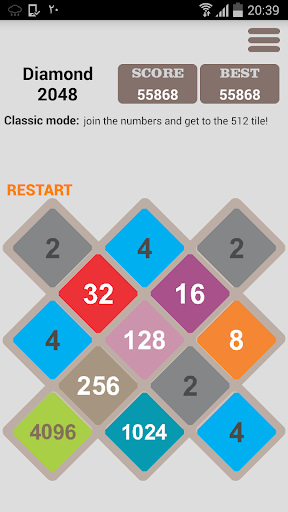 Diamond 2048 Direction Plus