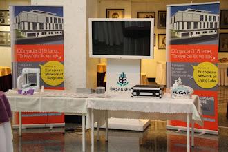 Photo: Başakşehir Belediyesi, LivingLab ile 3D printer uygulaması ve mobil sağlık ile ilgili bilgilerini katılımcılar ile paylaştı.