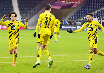 🎥 Bundesliga : Le Borussia Dortmund et Witsel calent encore, Bornauw et Casteels se quittent dos à dos