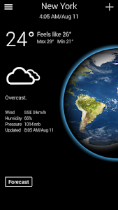 Real Weather - Free Forecast screenshot 0