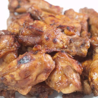 Spicy Cajun Slow Cooker Buffalo Wings.