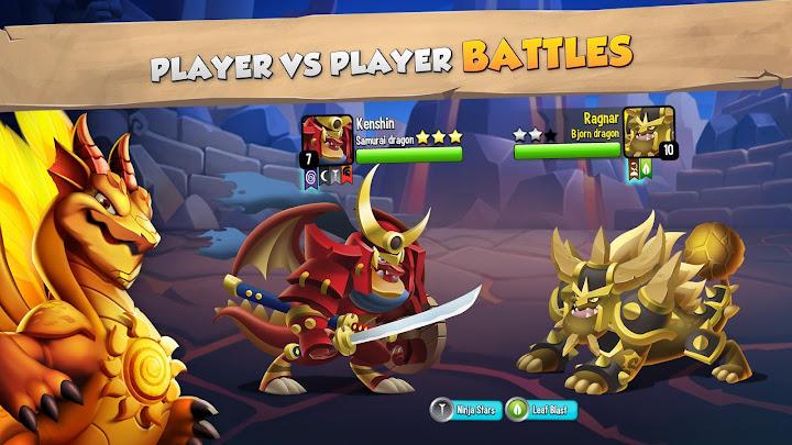 Dragon City Android App Screenshot