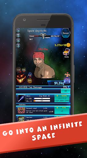 Gachi in Space: IDLE RPG screenshot 1