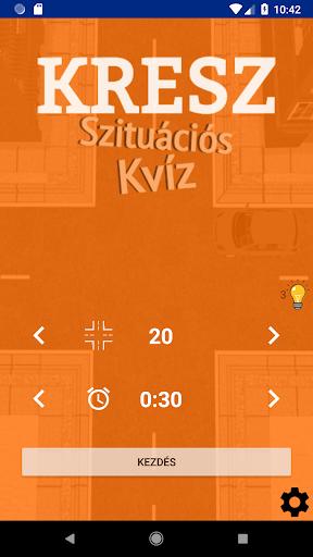 Kresz Szituu00e1ciu00f3s Kvu00edz  screenshots 1