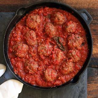 Italian Ground Beef Meatball.