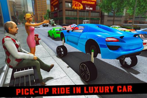 Elevated Car Racing Speed Driving Parking Game screenshot 4