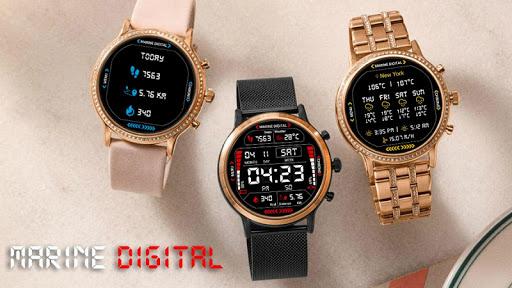 Marine Digital 2 Watch Face & Clock Live Wallpaper 1.07 screenshots 13