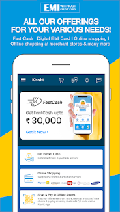 App Kissht - EMI without credit card - 0% EMI Finance APK for Windows Phone