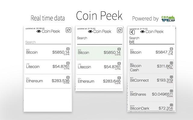 Coin Peek