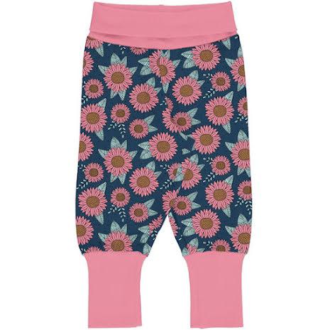 Maxomorra Rib Pants Sunflower Dreams