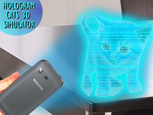 Cats 3D Hologram Simulator screenshot