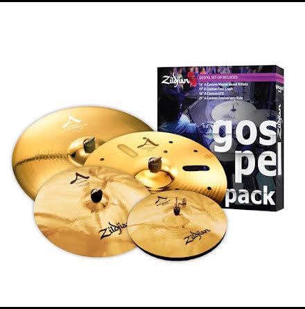 Zildjian A Custom Gospel Pack - AC0801G