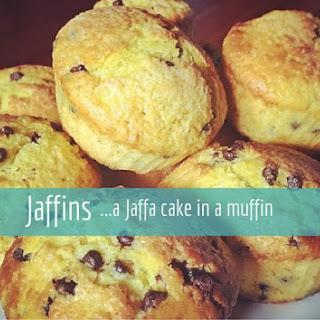 """""""Jaffins"""" chocolate orange muffin"""