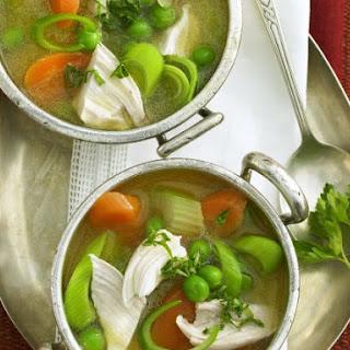 Healthy Chicken and Veg Broth