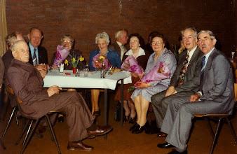Photo: Servatius 75 Jaar>  Leden van verdienste met vrouwen