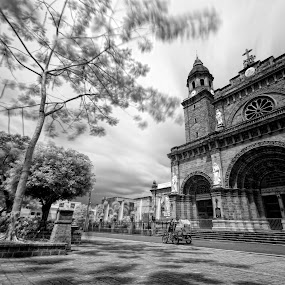 The Manila Cathedral by Hiram Abanil - Buildings & Architecture Public & Historical ( intramuros, manila cathedral )
