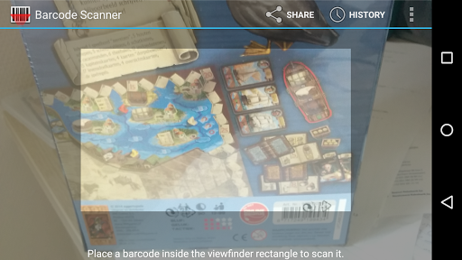Board Game Scanner