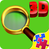 Kid Hidden Objects 3D