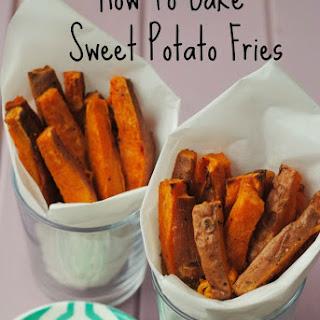How To Bake Sweet Potato Fries.