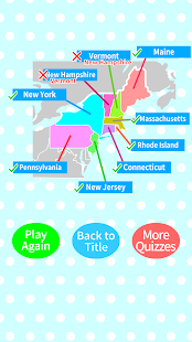 US States Capitals Map Quiz Android Apps On Google Play - Us states and capitals map