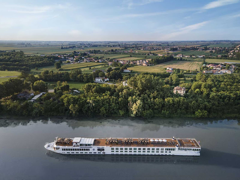 S.S. La Venezia from Uniworld takes guests through the waterways of northern Italy.