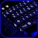 Blue Black Keyboard Theme icon