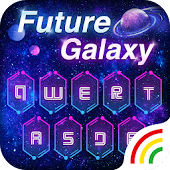 Neon Galaxy Keyboard Theme Android APK Download Free By Powerful Phone