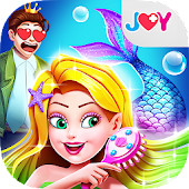 Mermaid Secrets22 –Princess Hair Salon for Party